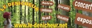 BIENVENUE DANS L'AGENDA DES SORTIES EN BERRY  DU DENICHEUR